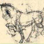 Dancing Horse18x24