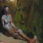 Luci, oil on masonite, 8x10, 2014 available