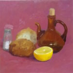 Still LIfe with Olive Oil and Salt